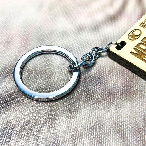 木頭鑰匙圈  05