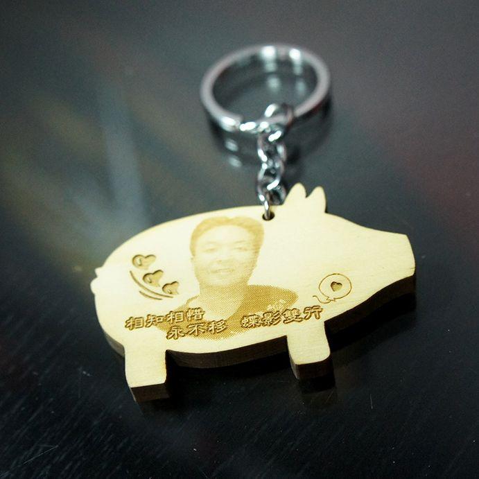 原木鑰匙圈、手機吊飾雕刻