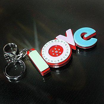 壓克力雕刻鑰匙圈