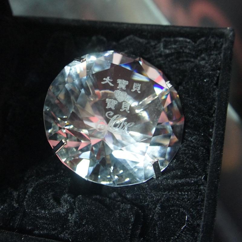 雕刻水晶獎牌與紀念禮品