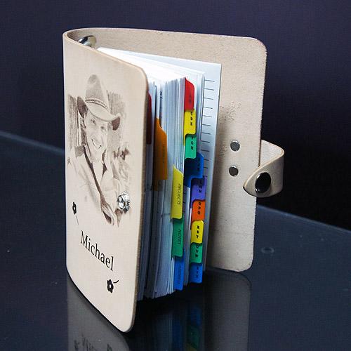 雷射雕刻筆記本
