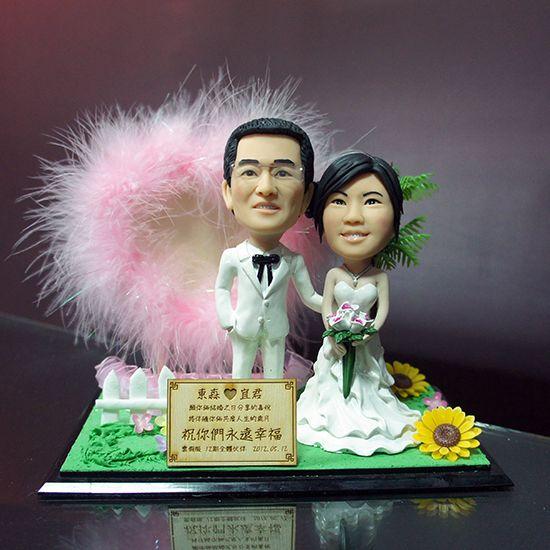 婚禮/情人公仔場景組
