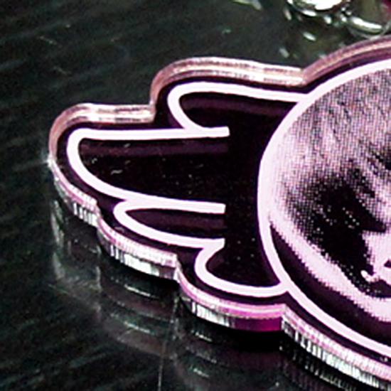 雷射雕刻鑰匙圈-造型切割