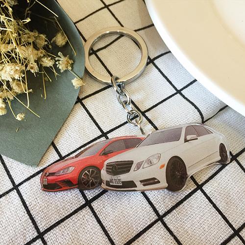 車子鑰匙圈製作
