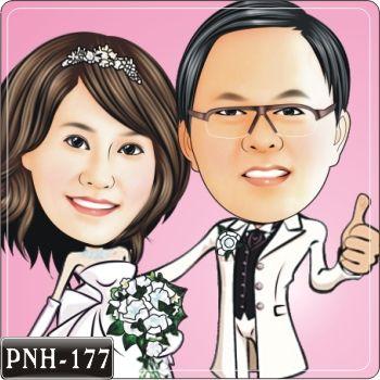 結婚Q版畫