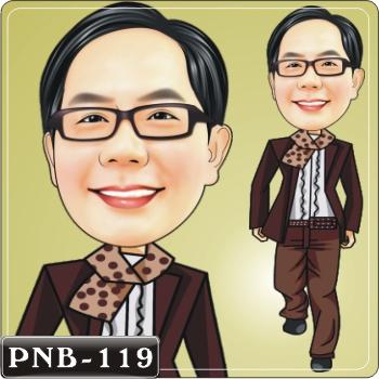 男生人像q版漫画pnb-145