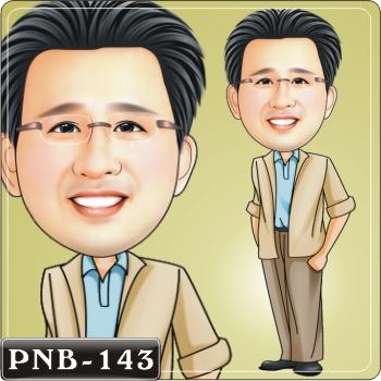 (b-04)q版画-人像绘图-男生西装.衬衫造型q版漫画